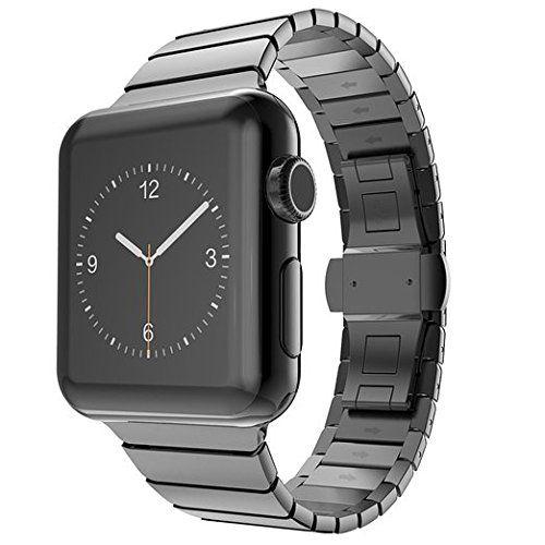 Surwin 42 mm Apple Watch Armband iWatch Band aus Edelstahl Uhrenarmband Ersatzband mit Metallverschluss für alle Versionen mit Werkzeug geliefert - http://on-line-kaufen.de/surwin/surwin-42-mm-apple-watch-armband-iwatch-band-aus-3