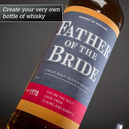 Personalised Malt Whisky - Black Label Father - Image 1