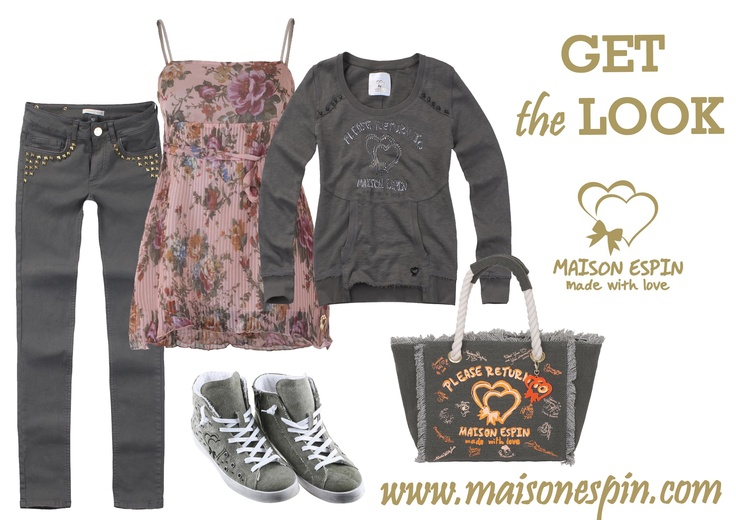 Romantic army#maisonespin #springsummercollection13 #womancollection #lovely #MadewithLove #romanticstyle #milano#clothing #shopping #iloveshopping