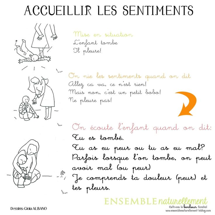 "Accueillir les sentiments par ""Ensemble naturellement"""