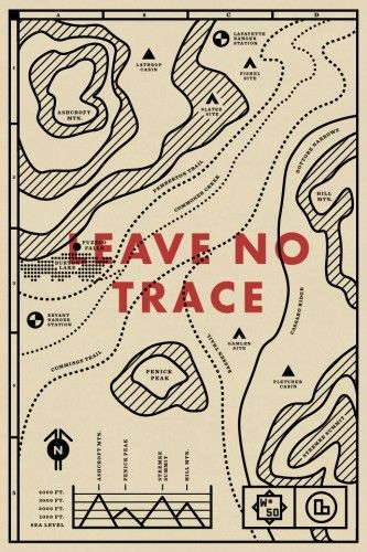 Leave No Trace // Design  Illustration by Travis Ladue