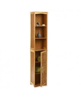 etagre colonne de rangement pour salle de bain dcor bambou gamme bambou 2011