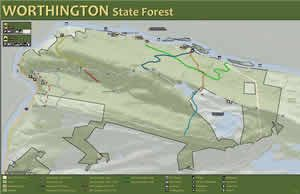 Worthington State Forest