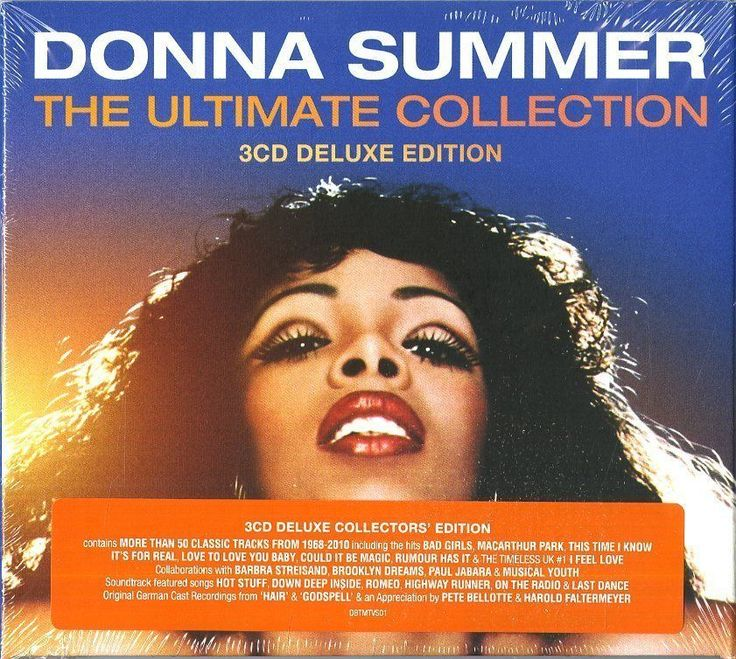Donna Summer - The Ultimate Collection - Deluxe Edition 3  CD Nuovo Clicca qui per acquistarlo sul nostro store https://goo.gl/nK3MFo