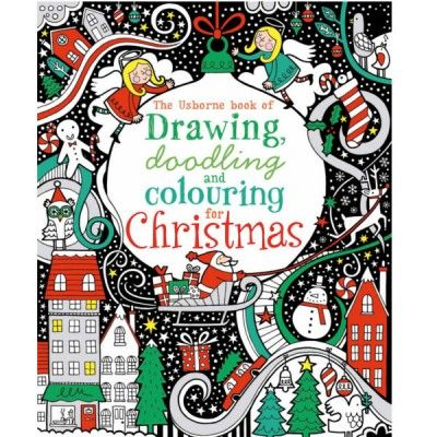 Usborne Drawing, doodling and colouring for Christmas - Sunnyside