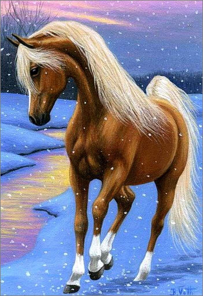 Les Chevaux Par Les Peintres Bridget Voth Balades Comtoises Art A Theme Cheval Painted Horses Cheval