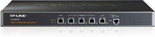 TP-Link 5-port Gb Multi-WAN Load Balance Router (TL-ER5120) by TP-Link. $187.99. The TL-ER5120 Gigabit Load Balance Broadband Router from TP-LINK possesses excellent data processing capabilities and multiple powerful functions including Load Balance, Access Control, IM/P2P Blocking, DoS Defense, Bandwidth Control, Session Limit and PPPoE Server, which meet the needs of small and medium enterprises, hotels and communities with large volumes of users demanding an efficie...
