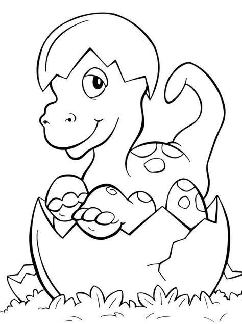 Kinder Malvorlagen Tiere Dinosaur Ei Geburt Malvorlagen
