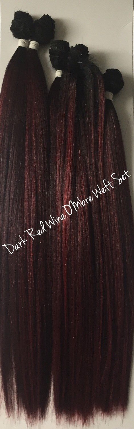 25 unique kylie jenner hair extensions ideas on pinterest kylie dark red wine ombre weft hair extensions mixed human synthetic kylie jenner hair pmusecretfo Choice Image