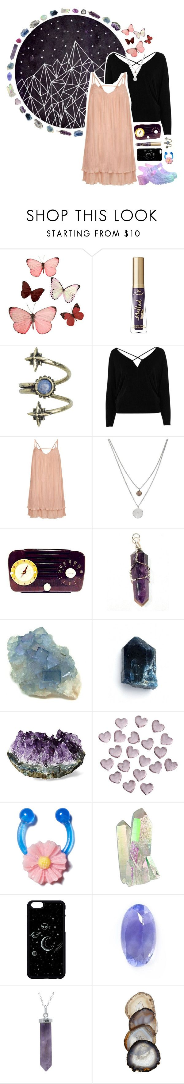 """Pretty In Pink"" by aquarian-anarchy ❤ liked on Polyvore featuring H&M, Ettika, River Island, Kenneth Cole, Mother of Pearl, Crate and Barrel, Loquet and vintage"