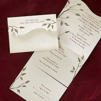 550 best Wedding Invitation Ideas images on Pinterest Invitation