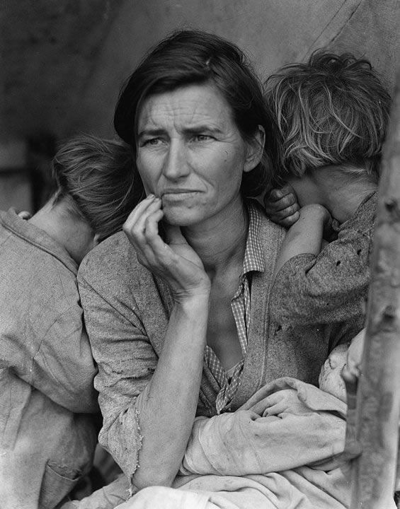 Dorothea Lange - Inspiration from Masters of Photography - 121Clicks.com
