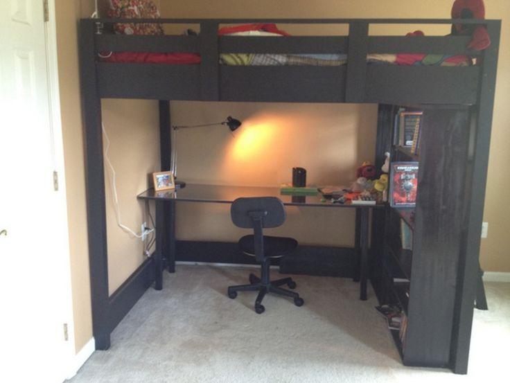 Loft Bed With Desk Combo Part 45
