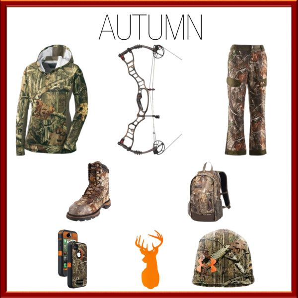 """""""Autum Bow Season"""" by helen-butt on Polyvore (I did my first Hunting Polyvore!) <3 hb"""