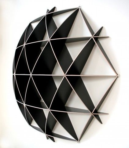 Small COMB Shelving Sphere. Crystal Maze-tastic!