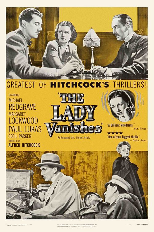 The Lady Vanishes (1938) Margaret Lockwood, Michael Redgrave, Paul Lukas, Dame May Whitty, Cecil Parker