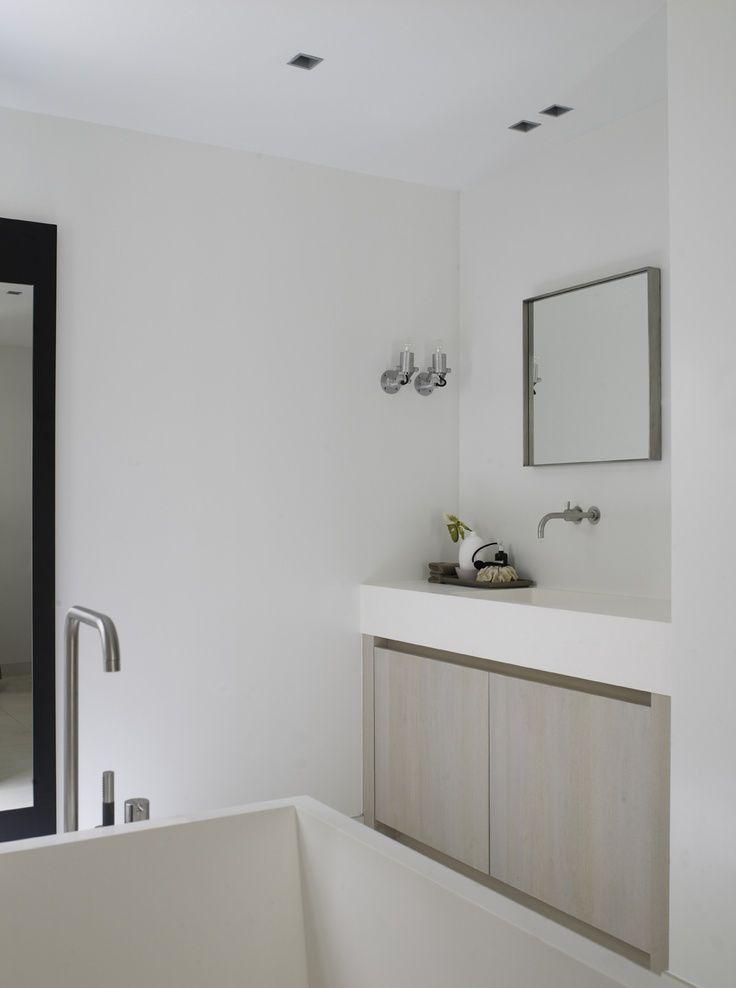 25 beste idee n over rustige badkamer op pinterest badkamer muur kleuren badkamer kleuren en - Kleuren muur toilet ...