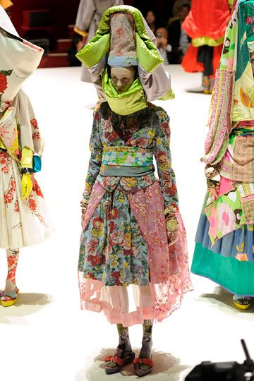 Kenzo spring 2011.  Beautiful combination of colors and a nice nod to old world styling.