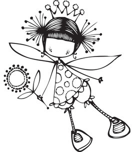 Stamping Bella Unmounted Rubber Stamp-Maisy