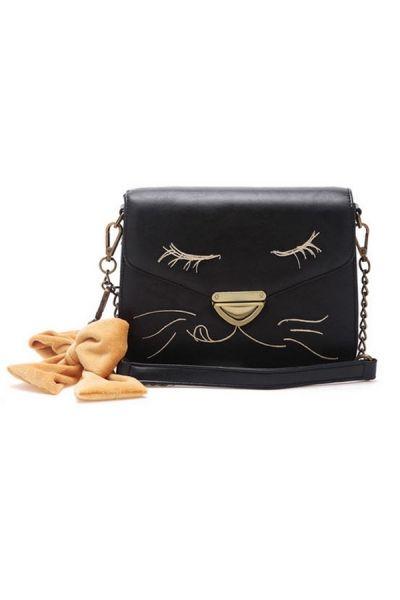 OasapVintage Cat Design Shoulder Bag // LOVE!