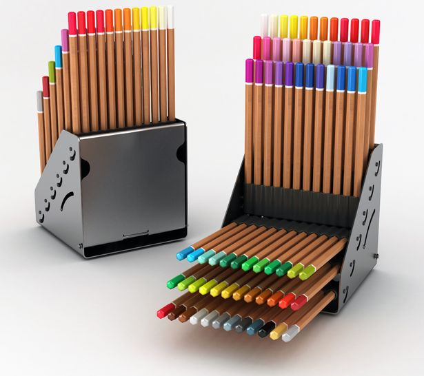 Designed By Hakan Gursu Of Designnobis Pencilayers Is An