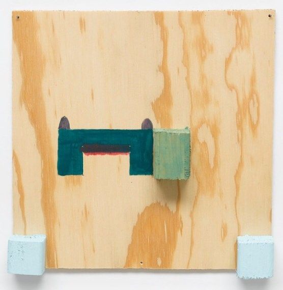 "Happy Birthday to #RichardTuttle, born this day, July 12, 1941 in Rahway, NJ. This is 'Two With Any To' #11 (1999). ""Everything in life is drawing, if you want. Drawing is quintessential to knowing the self. Art that survives from one generation to the next is the art that actually carries something that tells society about self."""