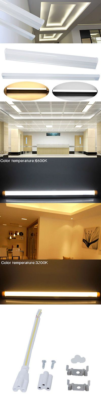 Light Bulbs 20706: 2 4 6 10X Integrated T5 5W 9W Smd Led Fluorescent Replacement Tube Light 1Ft 2Ft -> BUY IT NOW ONLY: $42.99 on eBay!