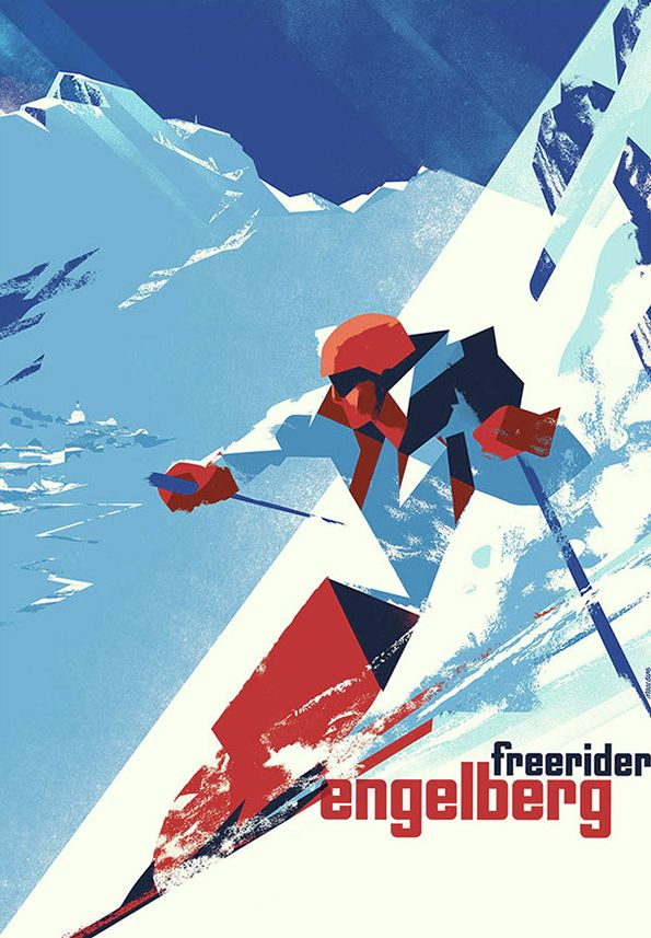 Mads Berg's fantastic illustrations are a modern take on classic poster art