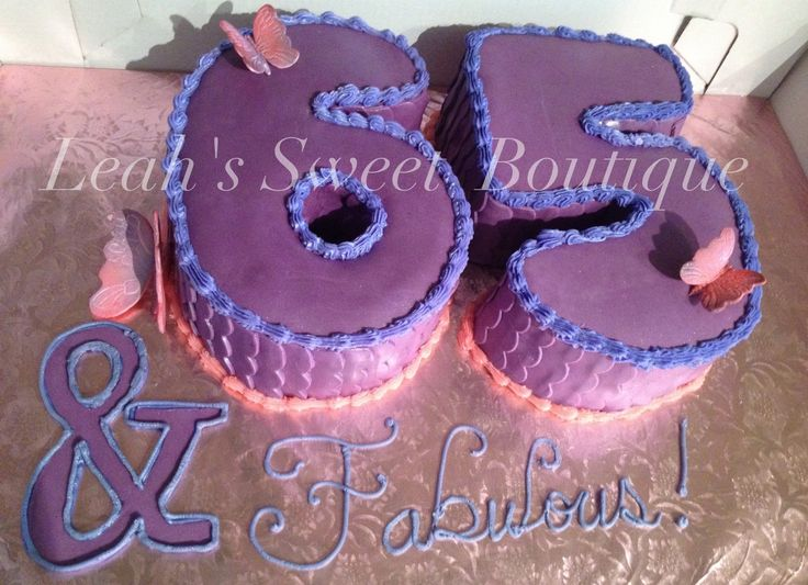 65th birthday cake | Birthday cake, 65 birthday cake ...