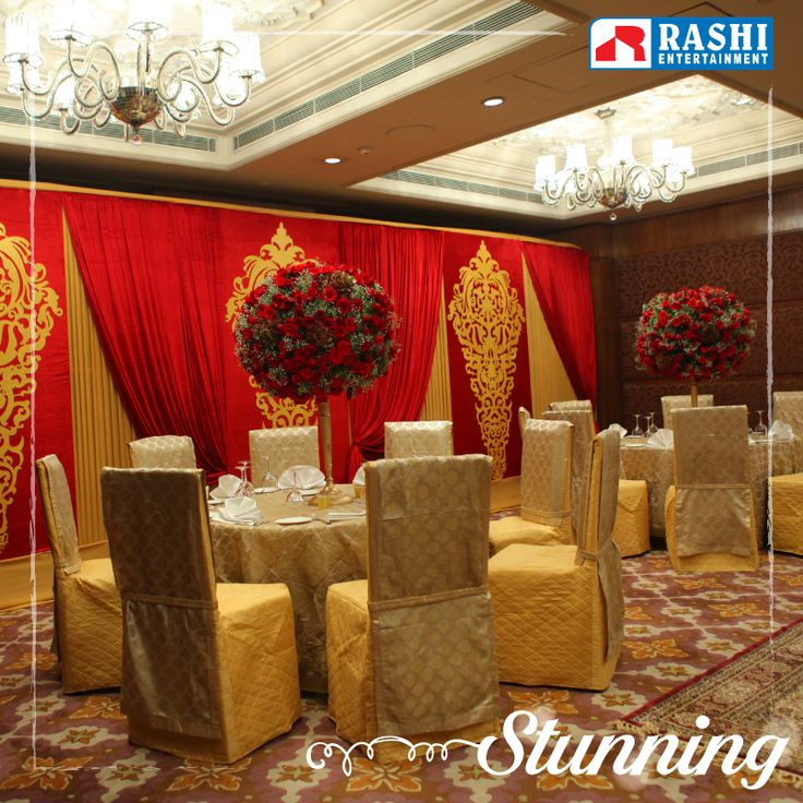 Make sure you make a strong impression on your #wedding day with our stunning #decors!  www.rashientertainment.com