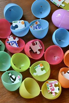 Create An Easter Puzzle Create An Easter Puzzle With a set of blank puzzle pieces, create your own design or message for your kids to piece together after the big hunt.
