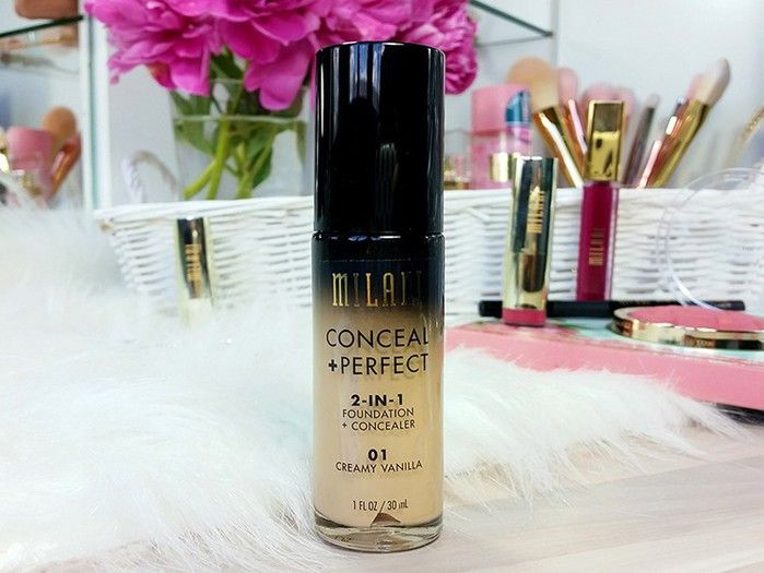 Lišpanje - Milani Conceal & Perfect 2-in-1 Foundation + Concealer - Click2Chic Blog