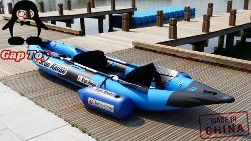 Recreational 2 Person Inflatable Fishing Kayak