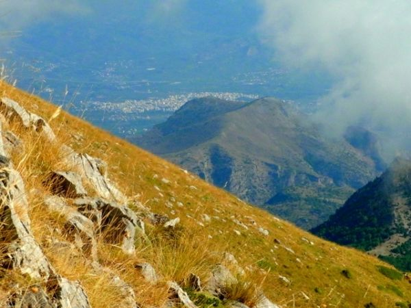 Sparti Town from a hiker's point of view, Mount Taygetos