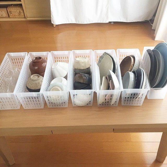 1人暮らしのシンク下収納 100均で食器収納 シンク下 収納