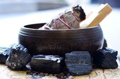Learn how to remove negative energy from your home with these 5 simple cleansing rituals using sage cleansing, black tourmaline and protection crystals.