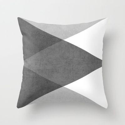 cojin de patchwork con 4 tonos de una misma color