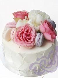 """Торт """"Цветочный букет"""""""