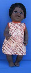 "Aboriginal Girl Doll [large - 16""] Price:  $35.00"