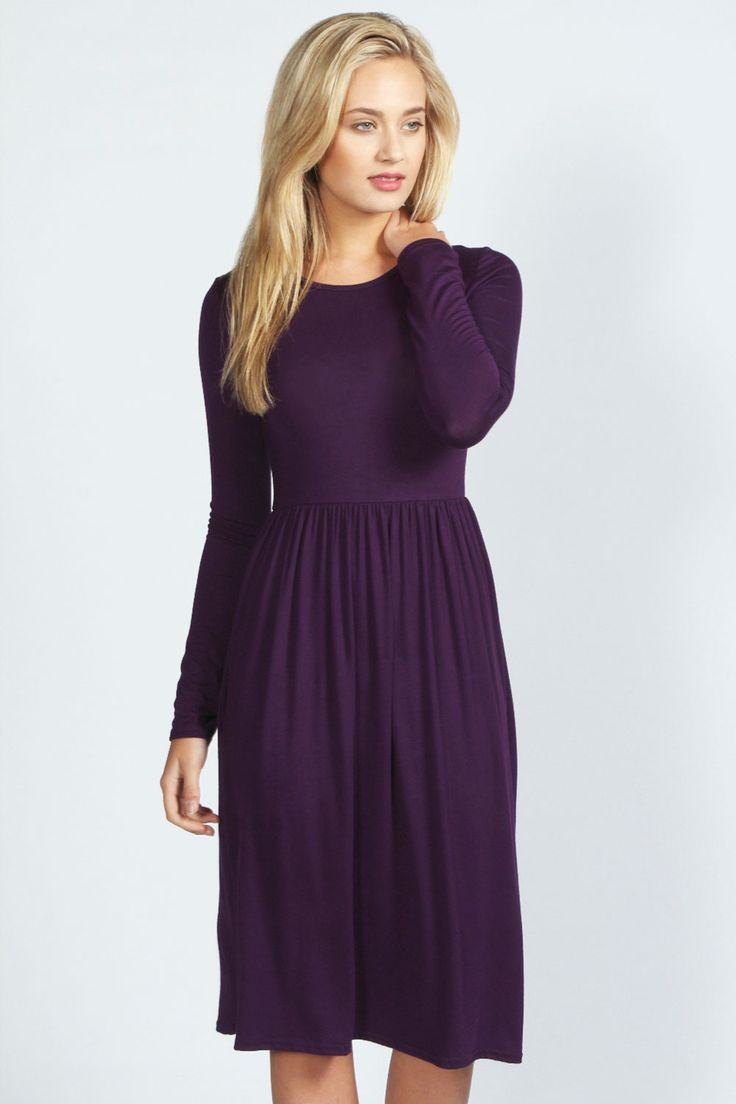 Mia Long Sleeve Midi Dress UK size 12
