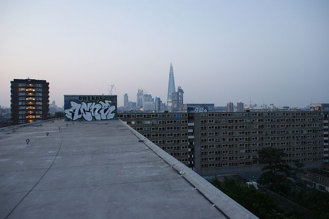 Twilight on the Heygate Estate | Flickr - Photo Sharing!