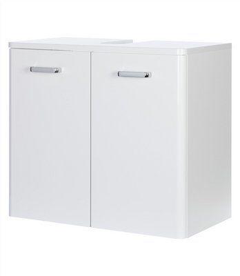 Waschbeckenunterschrank »Piolo« in weiß hochglanz im Online Shop von Baur Versand - Übergangslösung?