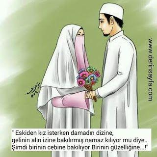 Resimli dini evlilik sözleri