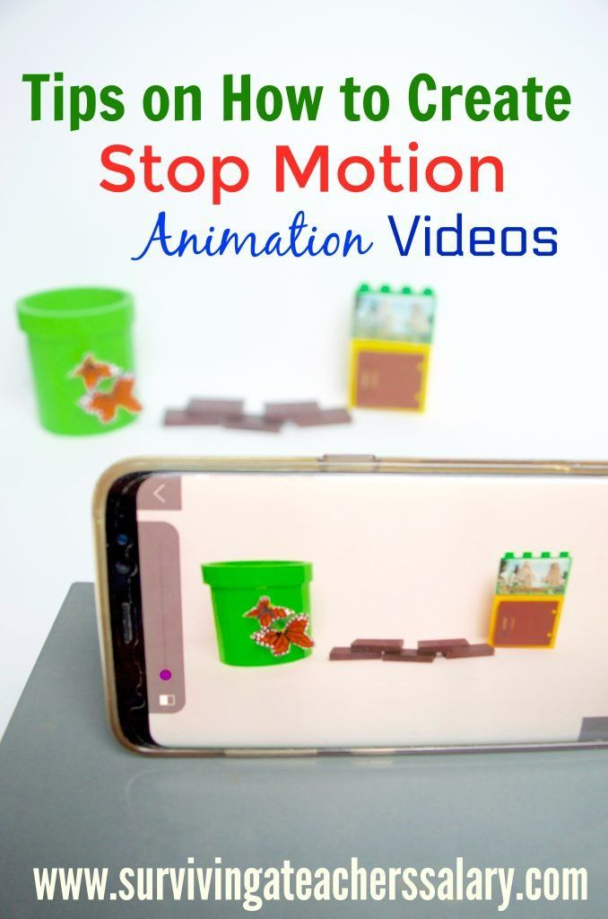 How to Create Stop Animation Videos - Tips for Kids + Stop