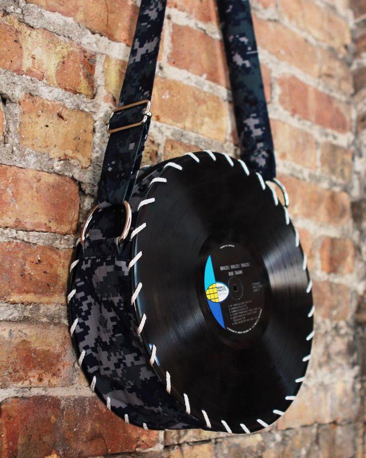 Digital Camo Songbag vinyl record bag www.thesongbag.com
