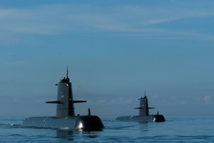 HSwMS Halland - Gotland-class submarines of the Swedish Navy are modern diesel-electric submarines