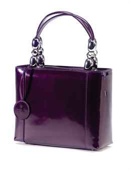 DIOR Aubergine Patent Leather, from the Elizabeth Taylor collection