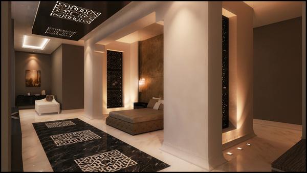 Hotel Design by Ala'a Eddine Bilal, via Behance