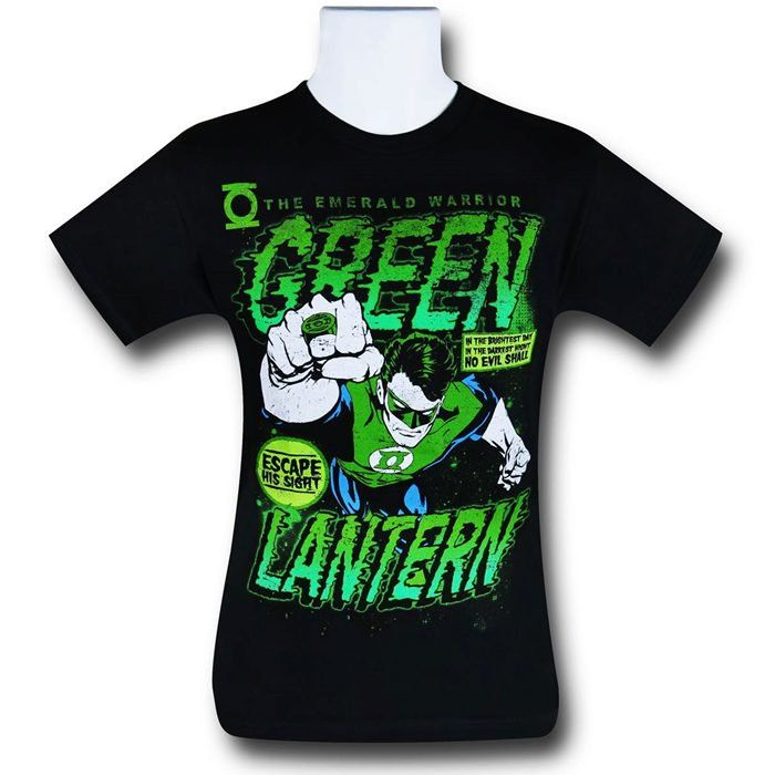 Green Lantern Comic Fist T-Shirt
