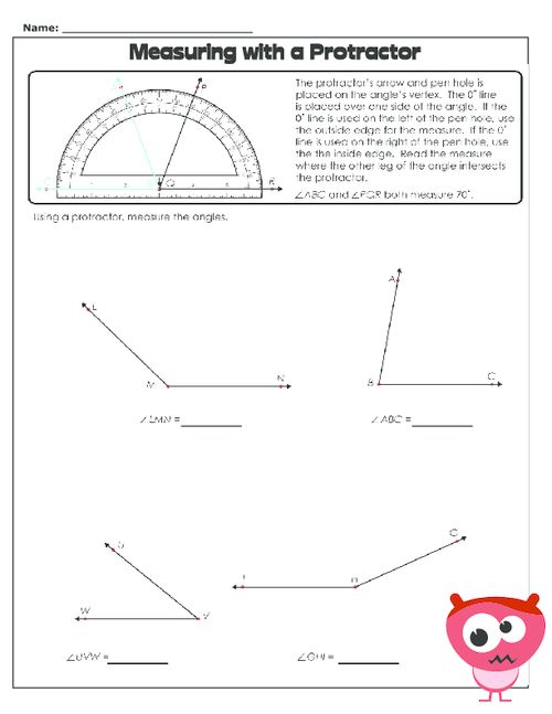 how to draw reflex angles with a protractor